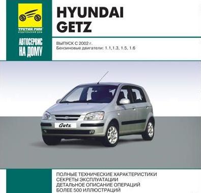 Мультимедийное руководство по ремонту и эксплуатации автомобилей Hyundai Getz